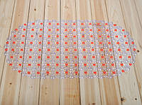Коврик силиконовый на присосках (оранжевый)