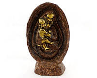 Барельеф «Мария с младенцем» овал g.p. QMS9807G