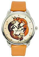 Часы ANDYWATCH наручные женские Две лисицы