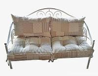 Диван кованый с подушками ТМ Прованс