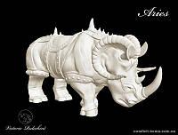 Боевой носорог знак зодиака Aquarius (Водолей) Victorio Rulechini Артикул: 20011802