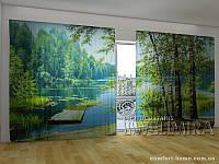 Фотоштора ПАНОРАМА 3D Березы, 2,7х5,0 м, арт. FRA-10 001100