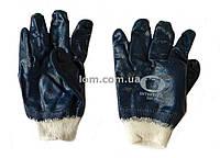 Перчатки рабочие, защитные с покрытием из нитрила, р. 10