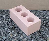 Кирпич силикатный полуторный, Розовый 250*120*88, фото 1