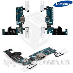 Шлейф для Samsung Galaxy S5 Mini G800H, коннектора зарядки, с компонентами, оригинал