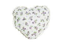 Подушка декоративная ручной работы Сердце Lilac Rose