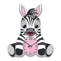 Часы Настенные Детские Glozis Zebra 35х30 см