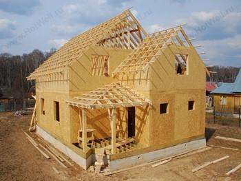 Купить дом из сип панелей