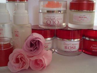 Косметика из болгарии на основе натурального розового масла