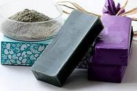 Мыло скраб Черная глина
