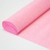 Бумага креп 549 розовая Италия