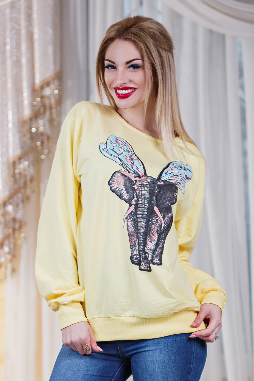 Д2803 Батник  Слон в расцветках размер 50-56