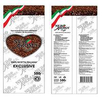 Кофе Nero Aroma Exclusive растворимый сублимированный 500 г - Неро Арома оптом и в розницу Coffeeopt