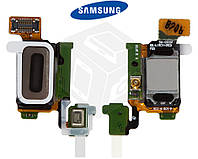 Шлейф для Samsung Galaxy S6 G920F, динамика, подсветки дисплея, с компонентами (оригинал)