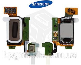 Шлейф для Samsung Galaxy S6 G920F, динамика, подсветки дисплея, с компонентами, оригинал