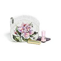 Эксклюзивная дизайнерская косметичка ТМ Прованс Персиковая Роза