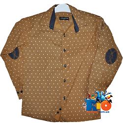 """Классическая рубашка """"Louis Vuitton"""" для  мальчика от 1-4 лет"""