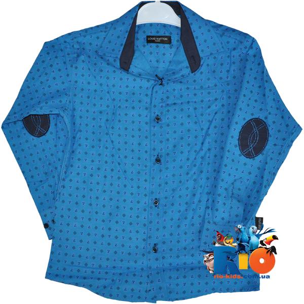 """Классическая рубашка """"Louis Vuitton"""" для  мальчиков от 1-4 лет"""
