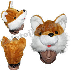 Карнавальная маска Лисы