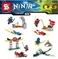 "Конструктор ""Ninja"", 4 вида, арт. SY226 KK"