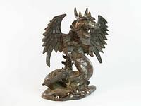 Статуэтка Бронзовая Дракон Крылья