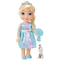 Большая кукла Эльза с олафом Disney Frozen Toddler Elsa