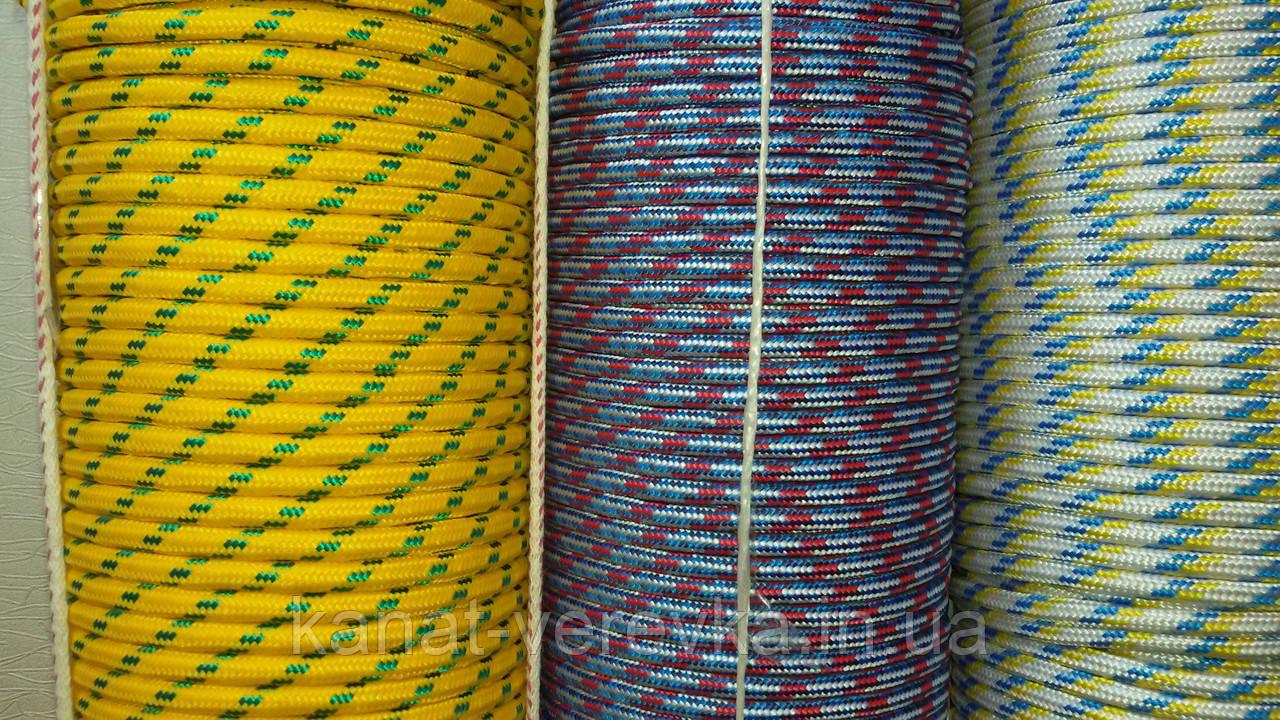 Веревка прочная 10 мм 100 м. Полипропиленовая.