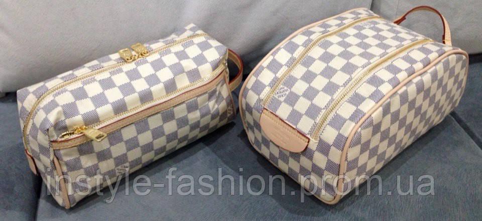 Косметичка Louis Vuitton белая - Сумки брендовые, кошельки, очки, женская  одежда InStyle в 425756cb8e8