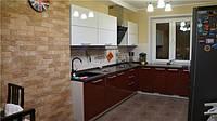 Кухня со столешницей по подоконнику от Оникс МК