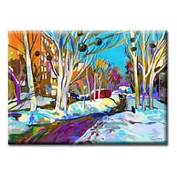 Картина GLOZIS на холсте Alley 50х35 см