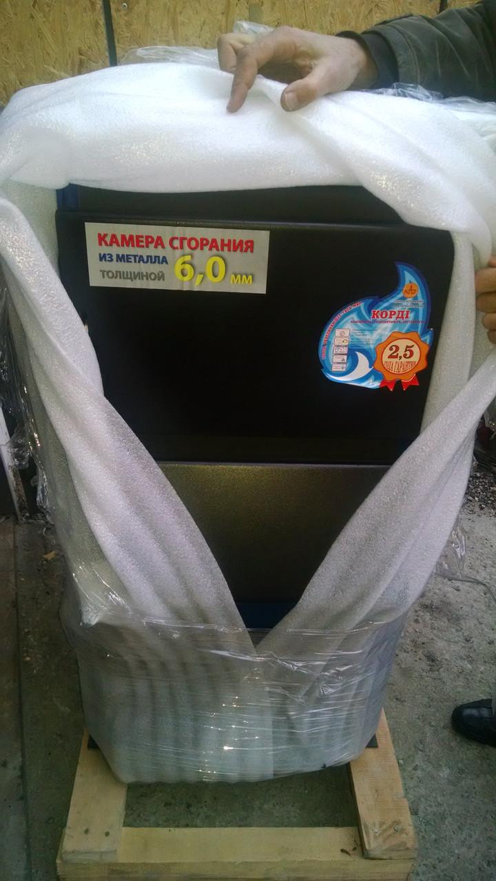 Твердотопливный котел Корди  16-20 кВт Случ (6мм)