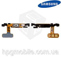Шлейф для Samsung Galaxy S6 EDGE G925F, кнопка включения (оригинальный)