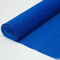 Бумага креп 557 синяя Италия