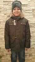 Демисезонная куртка-парка для мальчиков Ди-ди