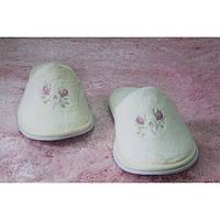 Тапочки женские махровые Begonville Surprise крем ST