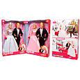 Семья Кукла DEFA 8305 жених и невеста, 29 см, фото 2