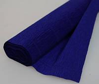 Бумага креп 555 синяя Италия