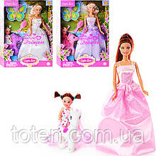 Кукла DEFA  с дочкой 8077  с дочкой, лошадка, аксессуары, 3 вида