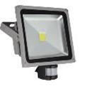 LED прожектор LedStar 50W 6500k с датчиком движения (PD739)