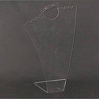 Акриловая подставка бюста шеи для цепочек и серьг