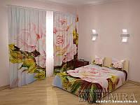 ФотоКомплект Умиление, шторы + покрывало арт. FRA-60000920