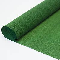 Бумага креп 591 Зеленая Италия