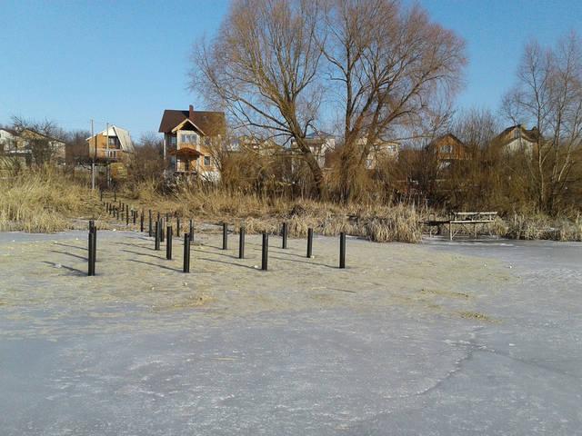 Рекомендуем нашим клиентам где глубина воды более 1,5 метра в зимнее время года