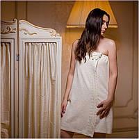 Юбка женская для сауны ISA белая, кремовая р.S, M, L