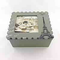 Шкатулка в форме почтовой марки