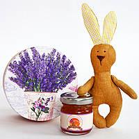 """Подарочный мини-набор """"Кролик и лавандовое варенье"""""""