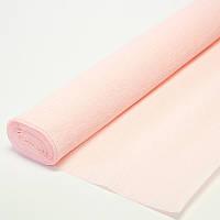 Бумага креп нежно розовая 569 Италия
