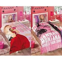 """Постельный комплект для подростков ТМ """"TAC Disney"""" HANNAH MONTANA STAR"""