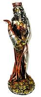 Статуэтка Фортуна с рогом богатства из гальванопластика