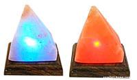"""Соляная лампа """"Пирамида"""" из гималайской соли"""